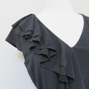 Little Black Dress - Calvin Klein - LBD - Ruffles